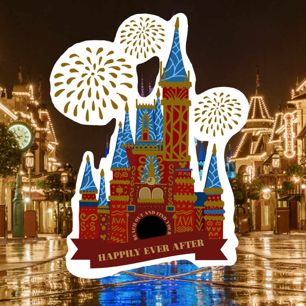 Happily Ever After Castle Magnet