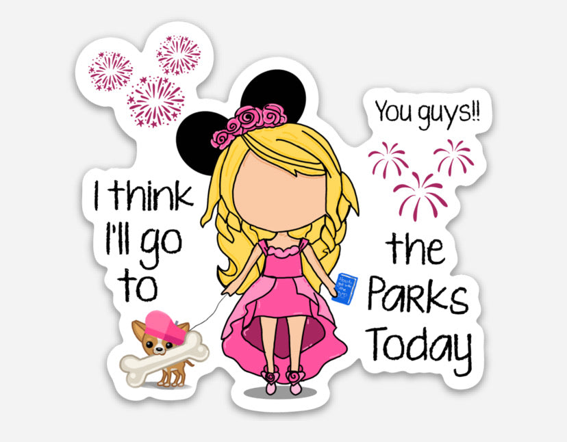 Perfect Park Day Magnet