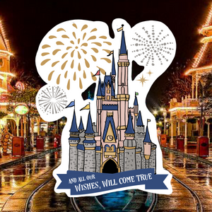 Wishes Castle Magnet
