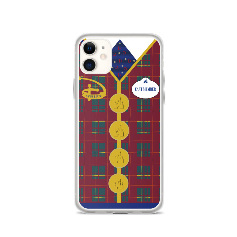VIP TOUR GUIDE iPhone Case