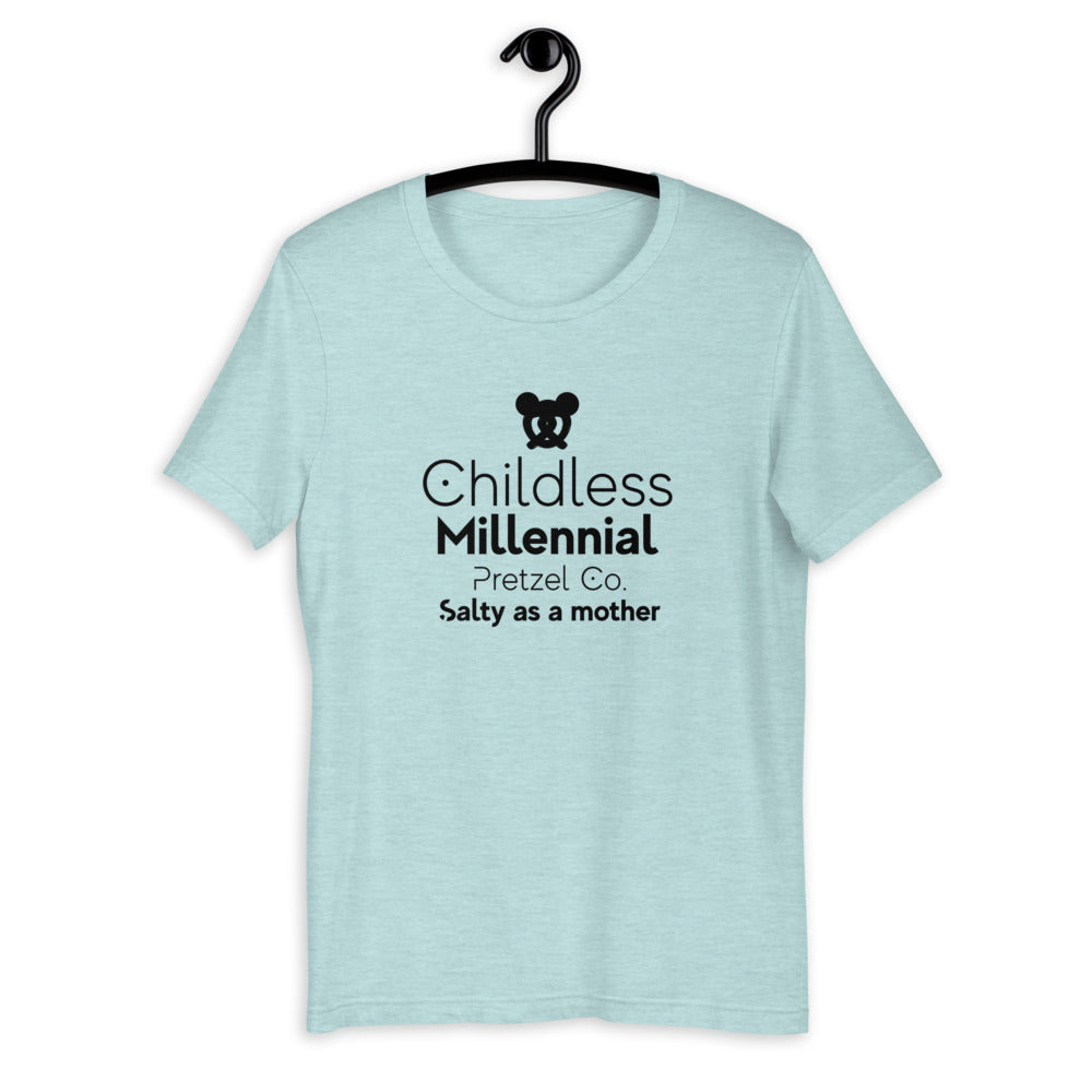 Childless Millennials Pretzel Co Short-Sleeve Unisex T-Shirt