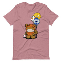 Load image into Gallery viewer, Fuzzy Space Friends Short-Sleeve Unisex T-Shirt