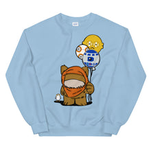 Load image into Gallery viewer, Fuzzy Space Friends Unisex Sweatshirt