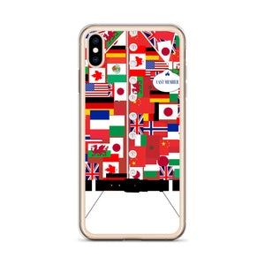 Around the World iPhone Case