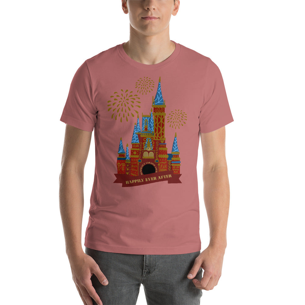 Happily Ever After Castle unisex tee