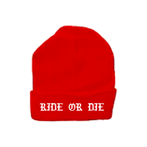 Ride or Die Beanie