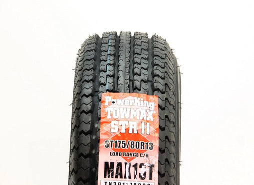 New 175/80R13 Power King Towmax STR 0N/A - 8.5/32