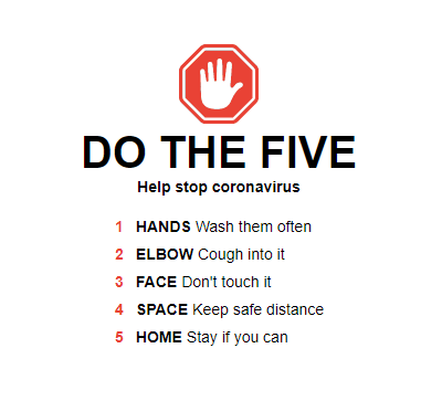 Coronavirus Prevention CentreStep Blog