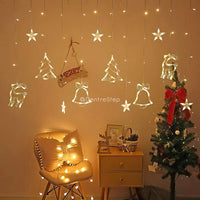 Christmas Curtain LED String Light