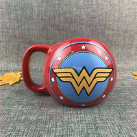 3D Wonder Woman Mug - Centre Step