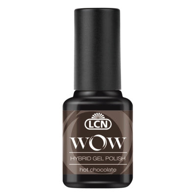 WOW Hybrid Gel Polish - hot chocolate, 8 ml