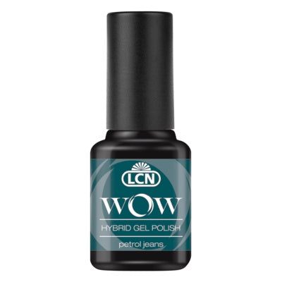 WOW Hybrid Gel Polish - petrol jeans, 8 ml