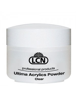 LCN ULTIMA ACRYLICS Modelling Powder, Clear, 60 g