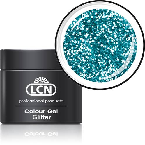 Colour Gels - Glitter, 5 ml  Laser blue,
