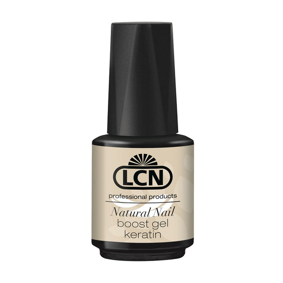 Natural Nail Boost Gel With Keratin, 10ml