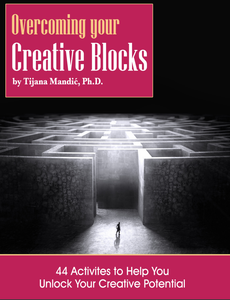 Overcoming Your Creative Blocks (Print and PDF)