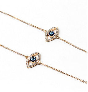 Face Mask Chain - Evil Eye