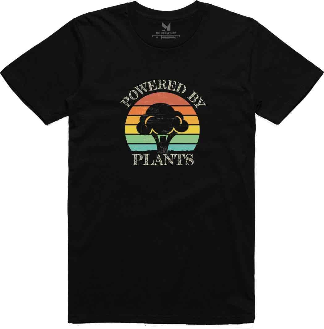 Powered by Plants - Broccoli Shirt