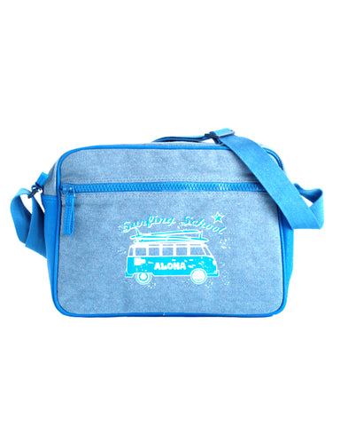 Canvas Messenger Tasche BUS