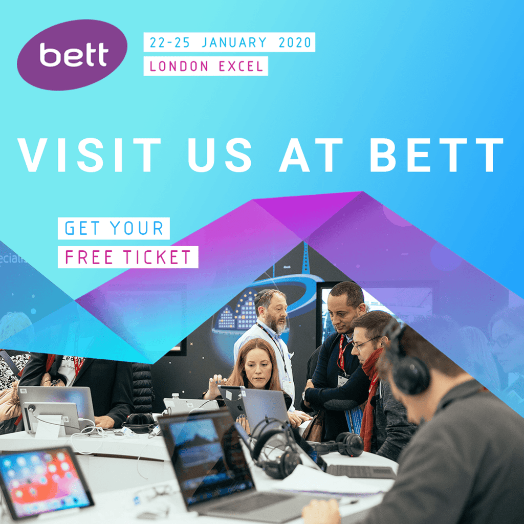 See us at BETT 2020 Show in London EXCEL