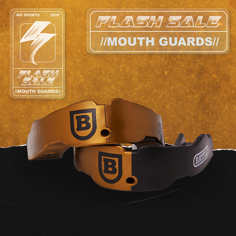 Free shipping in the UK - Battle mouthguards