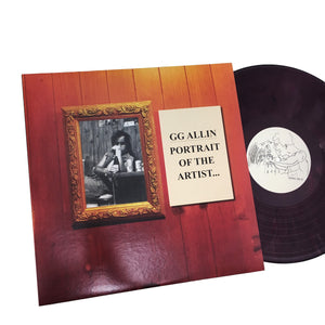 GG Allin: Portrait of the Artist 12""