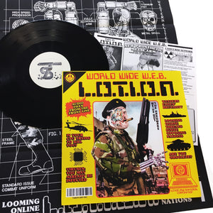 L.O.T.I.O.N.: World Wide W.E.B. 12""