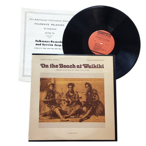 "Various Artists: On The Beach At Waikiki 12"" (used)"