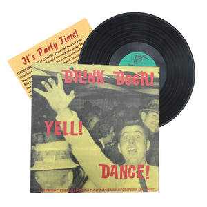 "Various: Drink Beer! Yell! Dance! 12"" (used)"