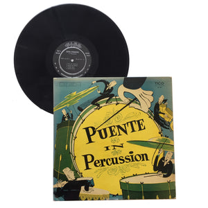 "Tito Puente: Puente In Percussion 12"" (used)"