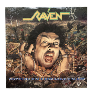 "Raven: Nothing Exceeds Like Excess 12"" (sealed 1988 dead stock)"