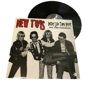 "New Toys: Better Late than Never 12"" (used)"