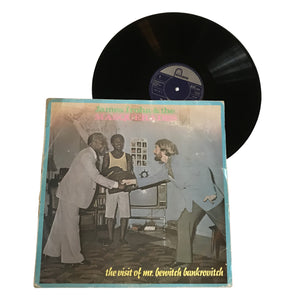 "James Iroha & The Masquerades: The Visit of Mr Bewitch Bankrovitch 12"" (used)"