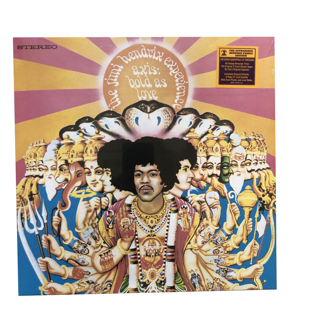 Jimi Hendrix Experience: Axis: Bold As Love 12