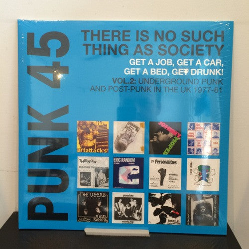 Various: Punk 45 Vol 2: There Is No Such Thing as Society 2x12""