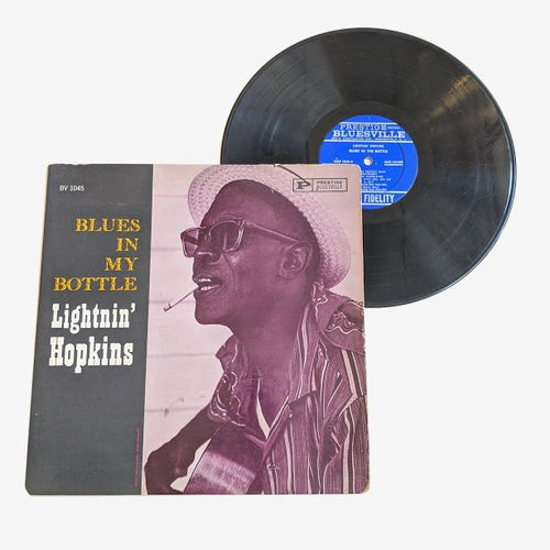Lightnin' Hopkins: Blues In My Bottle 12