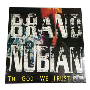 Brand Nubian: In God We Trust 12""