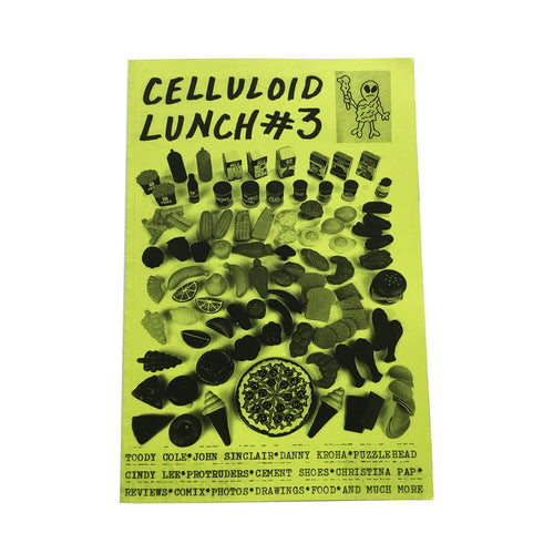 Celluloid Lunch #3 zine