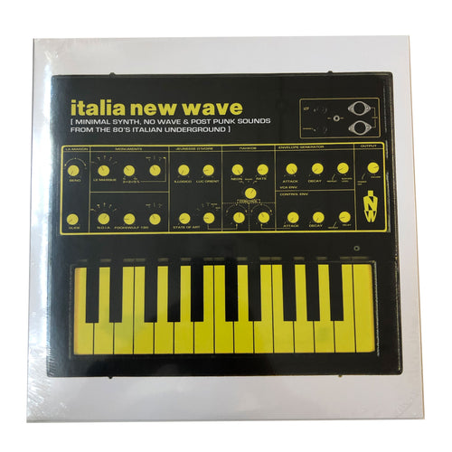 Various: Italia New Wave: Minimal Synth, No Wave, & Post Punk Sounds From The '80s Italian Underground 12