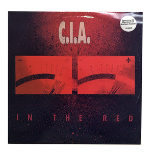 "C.I.A.: In the Red 12"" (1990 dead stock)"
