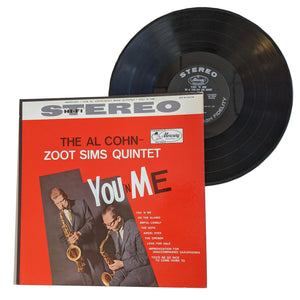 "Al Cohn & Zoot Sims Quintet: You 'N Me 12"" (used)"