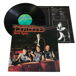 "The Exploited: Horror Epics. 12"" (used)"