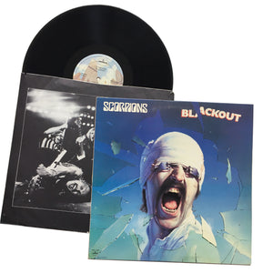 "Scorpions: Blackout 12"" (used)"