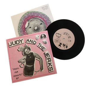 Judy & the Jerks: Music for Donuts 7""