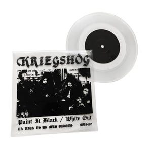 Kriegshog: Paint It Black / White Out 7""