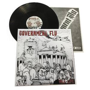 Government Flu: Vile Life 12""