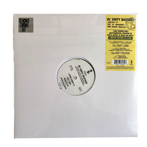 "Ol' Dirty Bastard: Return to the 36 Chambers (Instrumental Versions) 12"" (Black Friday 2020)"