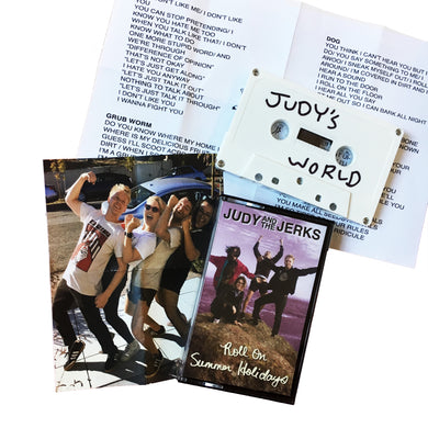 Judy & the Jerks: Roll on Summer Holidays cassette