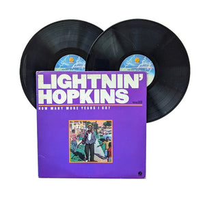 "Lighntnin' Hopkins: How Many More Years I Got 2x12"" (used)"