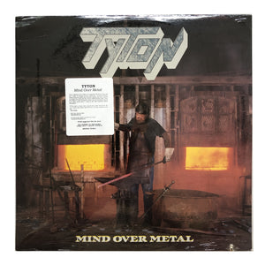 "Tyton: Mind Over Metal 12"" (sealed 1987 dead stock)"